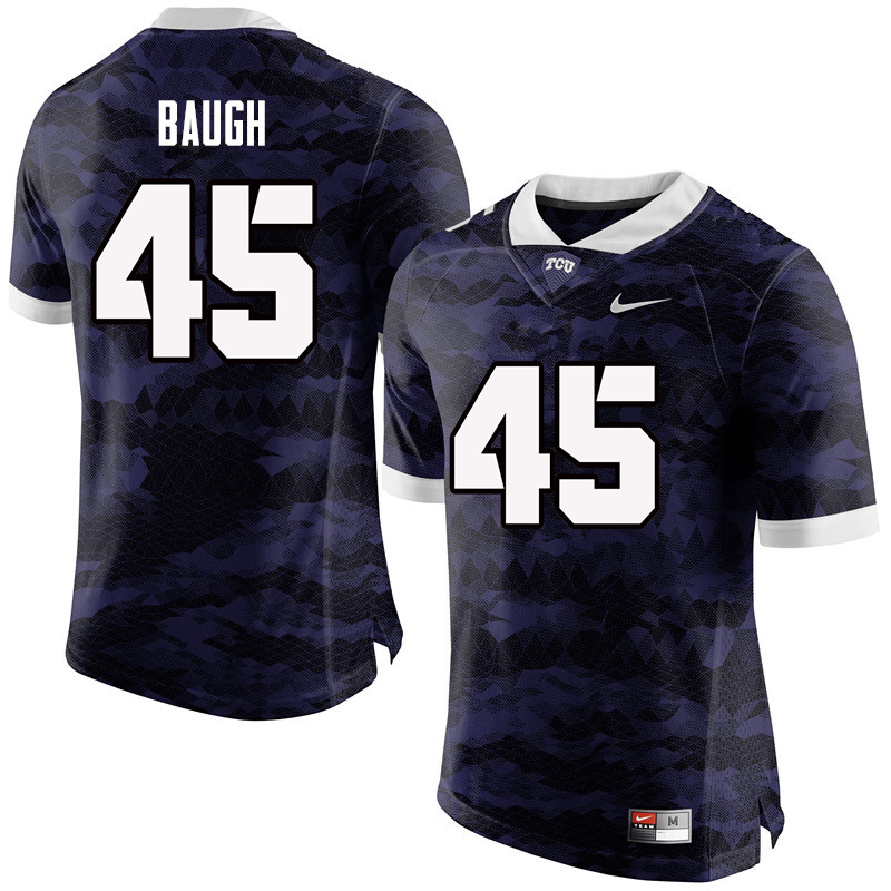 Men #45 Sammy Baugh TCU Horned Frogs College Football Jerseys-Purple
